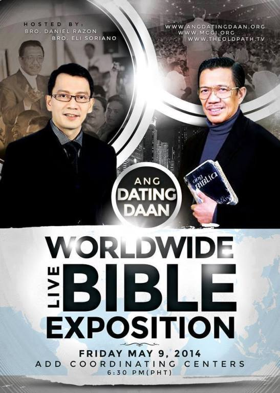 Ang dating daan worldwide bible exposition institute. Dating for one night.