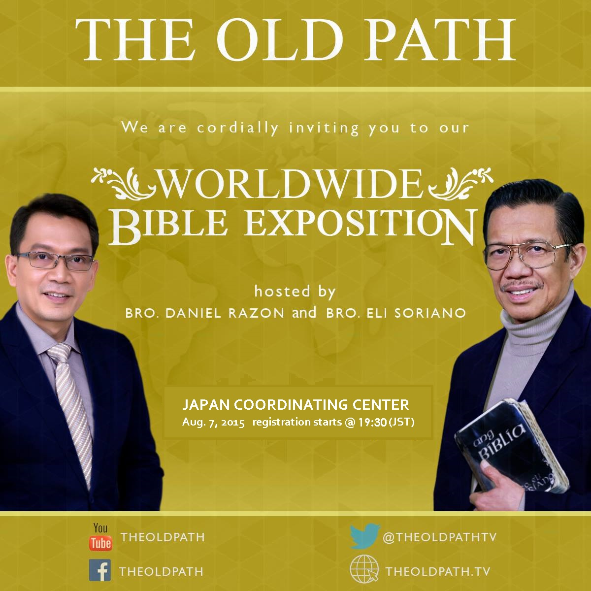 ang dating daan bible exposition live stream Ang dating daan itanong mo kay live events bagong video bakit feeding the spiritually starving people with god's word from the bible #blamenotgodforpoverty.